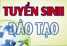 THÔNG BÁO TUYỂN SINH 2019